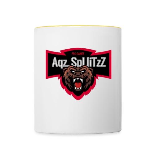 AqZ_SpLIiTzZ - Mok tweekleurig