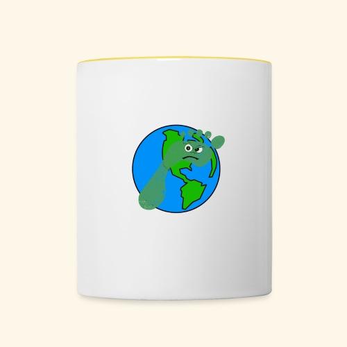 Earth Day Every Day - Tasse zweifarbig