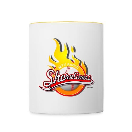 Aurich Shoreliners Logo - Tasse zweifarbig
