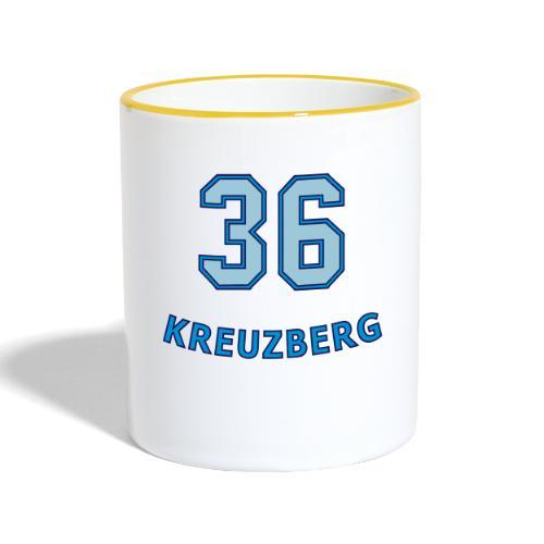 KREUZBERG 36 - Tasse zweifarbig