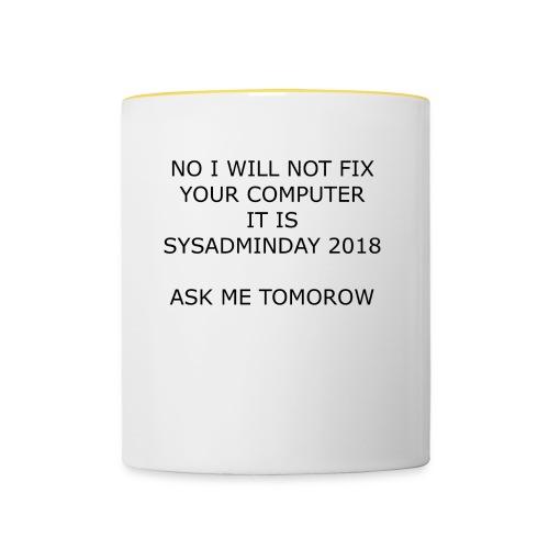 fixpc - Contrasting Mug