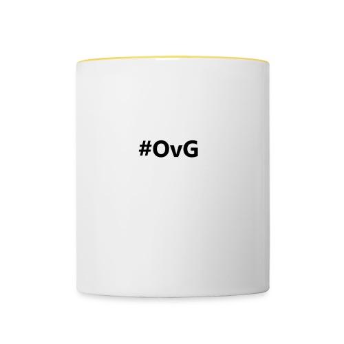 #OvG - Tasse zweifarbig