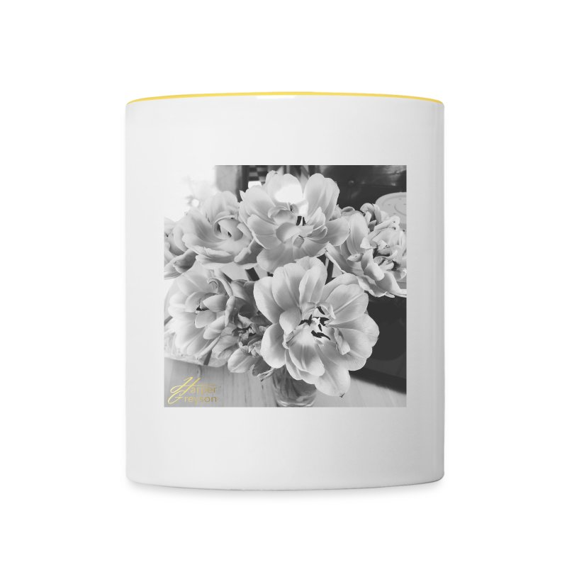 TulipsBW - Contrasting Mug
