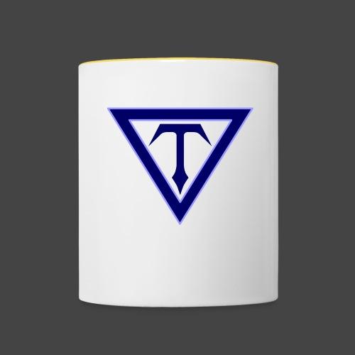 T-Eagle Records - Logo - Tasse zweifarbig