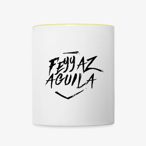 Feyyaz Aguila Merchandise - Tasse zweifarbig