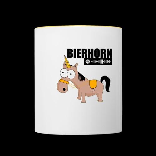 BIERHORN - Tasse zweifarbig