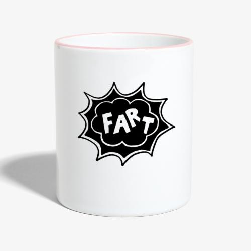 Fart 2019 LOGO - Mug contrasté