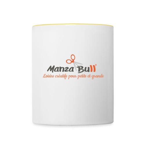 ManzaBull - Mug contrasté