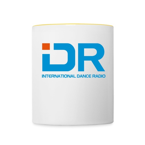 International Dance Radio - Taza en dos colores