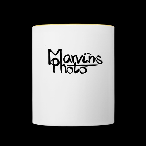 Marvins Photo - Tasse zweifarbig