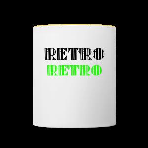 Retro Collections - Tofarget kopp