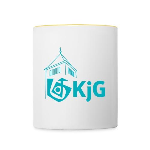KjG Turm - Tasse zweifarbig