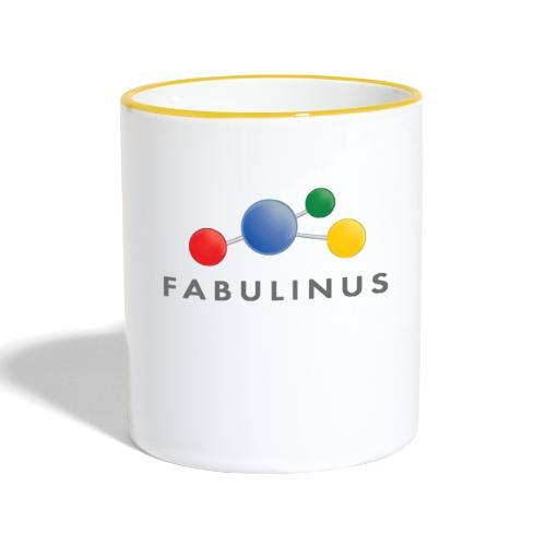Fabulinus logo enkelzijdig - Mok tweekleurig