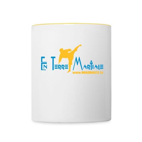 ETM bleu - Mug contrasté