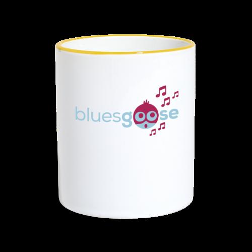 bluesgoose #01 - Tasse zweifarbig