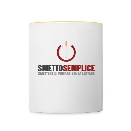 Smetto Semplice - Tazze bicolor