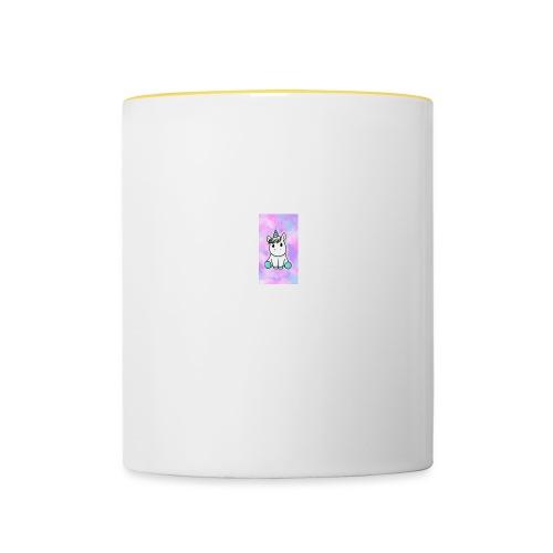 licorne - Mug contrasté