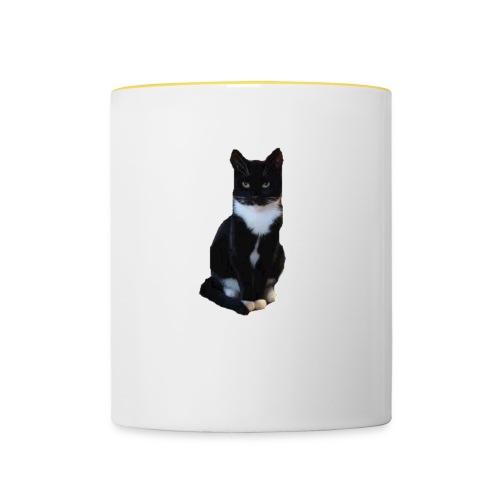 Cat.Nina2017 - Tasse zweifarbig