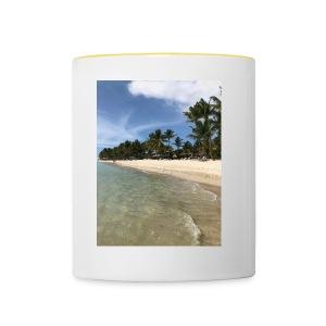 Beach - Contrasting Mug