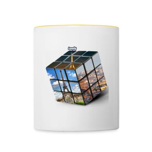 Tour eiffel - Mug contrasté