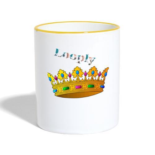Monsieur roi - Mug contrasté