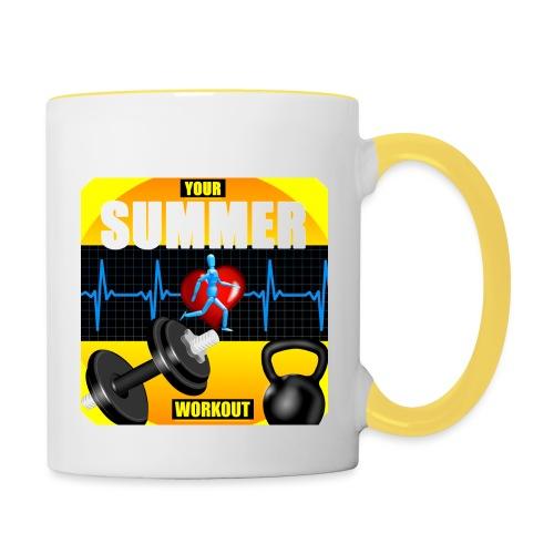 Your_Summer_Workout - Contrasting Mug