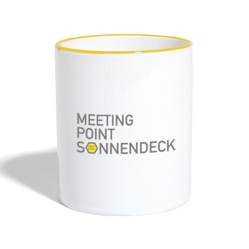 EBERTPLATZ KÖLN - Meeting Point Sonnendeck - Tasse zweifarbig