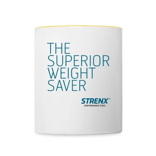 The Superior Weight Save - Tvåfärgad mugg