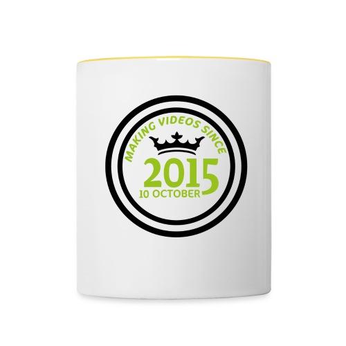 2015-10-10 - Tvåfärgad mugg