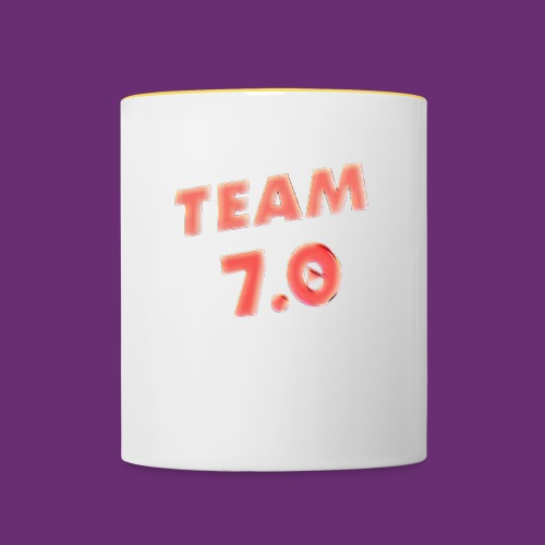 Pop art team 7 - Contrasting Mug