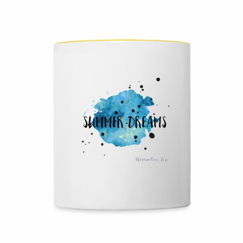 Summer Dreams - Contrasting Mug