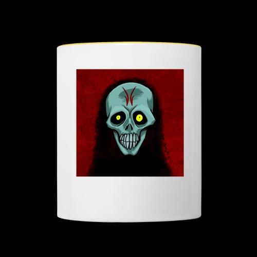Ghost skull - Contrasting Mug