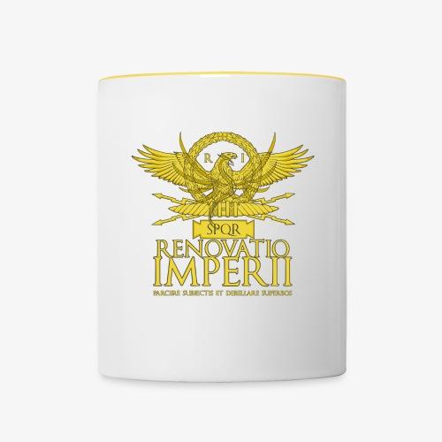 Emblema Renovatio Imperii - Tazze bicolor