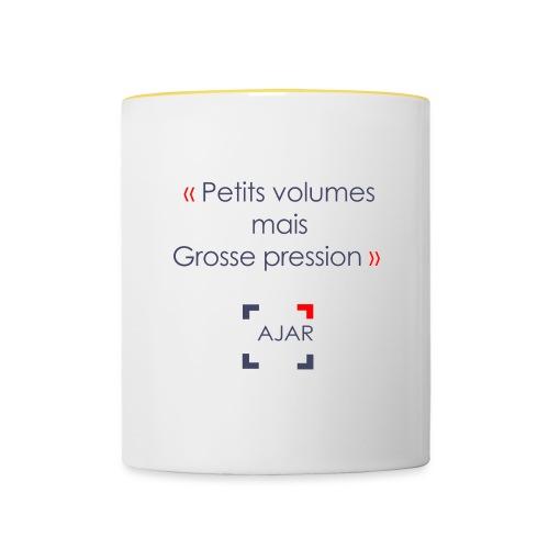 Petits volumes mais grosse pression - Mug contrasté