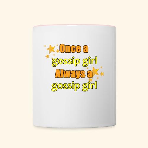 Gossip Girl Gossip Girl Shirts - Contrasting Mug
