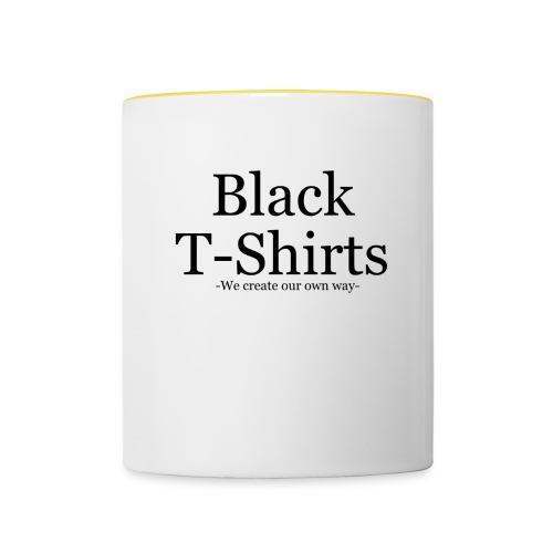 BTS 101 - Contrasting Mug
