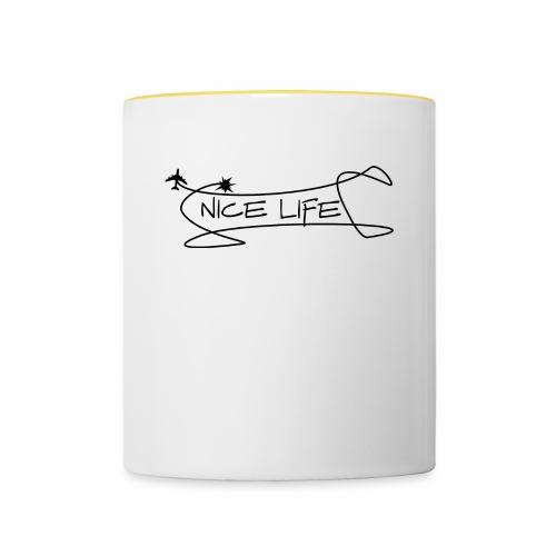 nice life 2 - Tazze bicolor