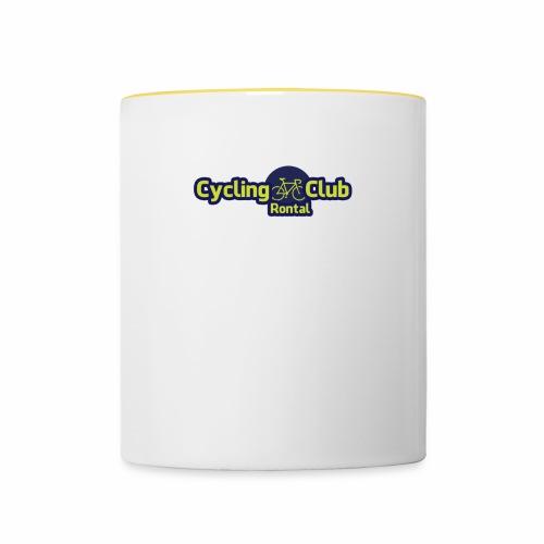 Cycling Club Rontal - Tasse zweifarbig