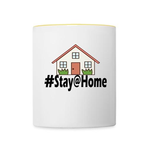 StayHome - Mok tweekleurig