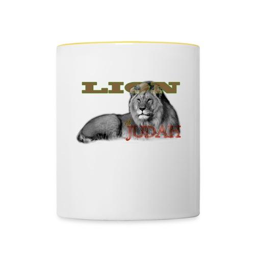 Lrg Judah Tribal Gears - Contrasting Mug