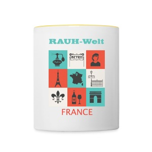Rauh Welt France color - Tasse bicolore