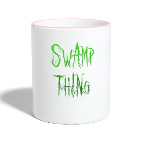 Swamp thing - Contrasting Mug