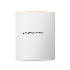 Accésoires AppAqsOfficiel - Tasse bicolore