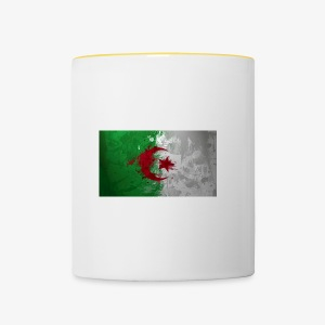 Drapeau Algérienne - Tasse bicolore