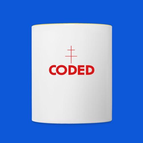 accessories merch - Contrasting Mug