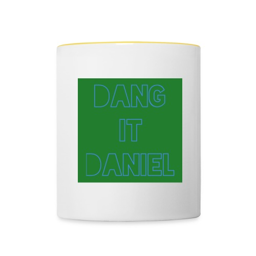 DangItDaniel - Tofarget kopp