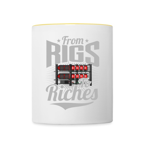 From Rigs To Riches - Mug contrasté