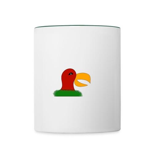 Parrots head - Contrasting Mug