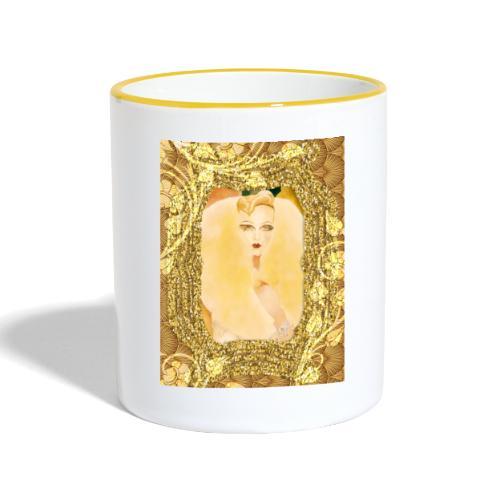 ART NOUVEAU ecrin - Mug contrasté