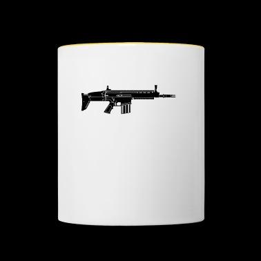 vapen - Tvåfärgad mugg